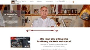 AIDA Formel The Vegetarian Butcher Website