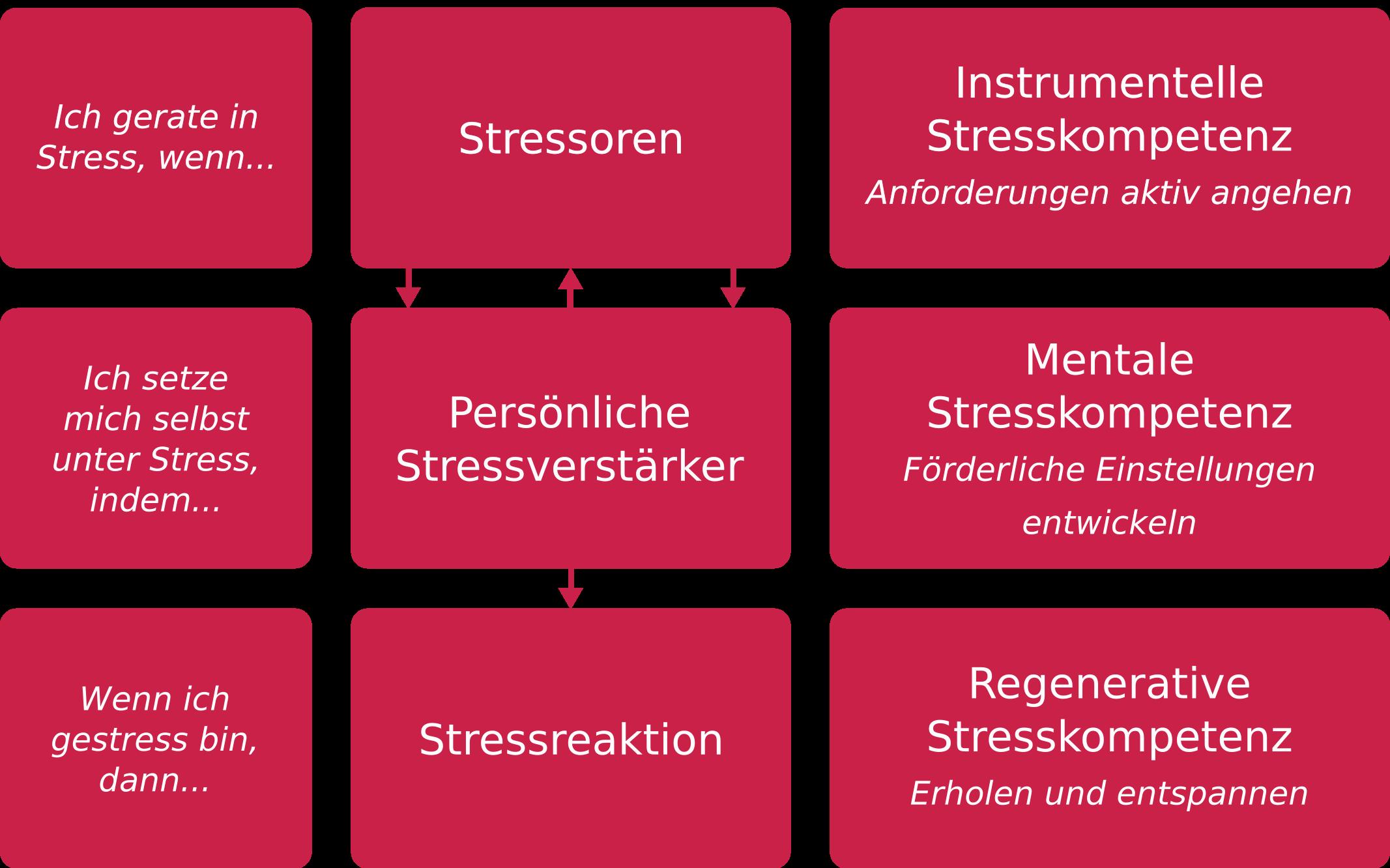 Stressbewältigung: Stressfrei mit dem 3 Säulen Modell (+Tipps und PDF Vorlage)