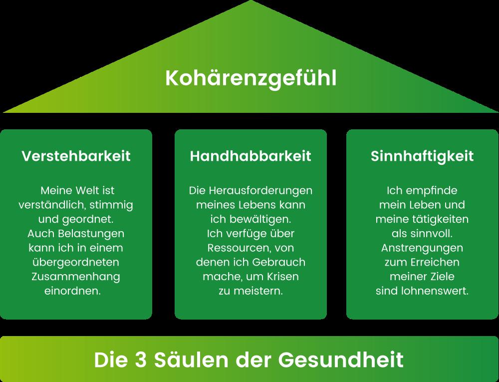 Salutogenese: Die 3 Säulen der Gesundheit