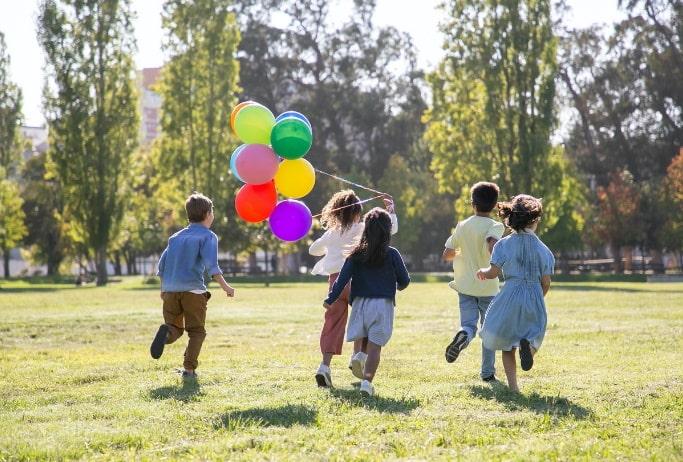 Der Professor, die Luftballons und das Glück im Leben