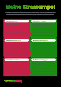 Stressampel nach Kaluza PDF Vorlage Vorschaubild